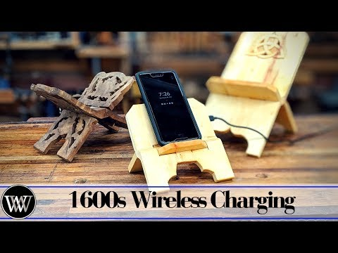 Making a Wireless Charging Stand Roubo Style