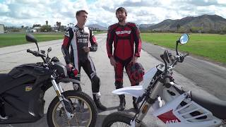 2018 Zero DSR vs. Alta Redshift SM – Drag Race!