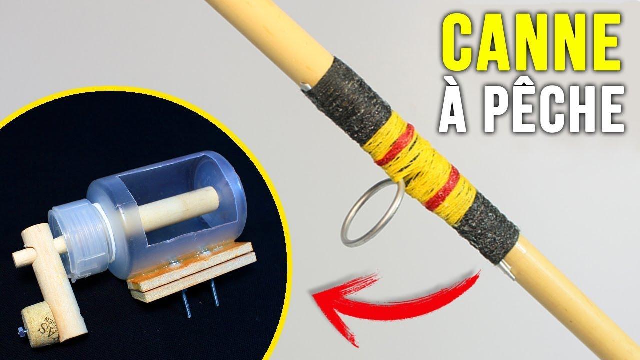 Canne A Peche Fait Maison comment faire une canne à pêche avec moulinet