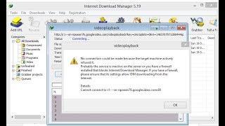 Cara mengatasi Gagal Download Di IDM (internet download manager) download failed