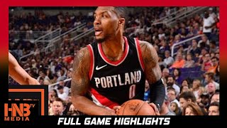 New Orleans Pelicans vs Portland Trail Blazers Full Game Highlights / Week 2 / 2017 NBA Season