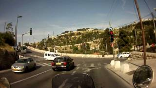 Driving Up Mount Of Olives