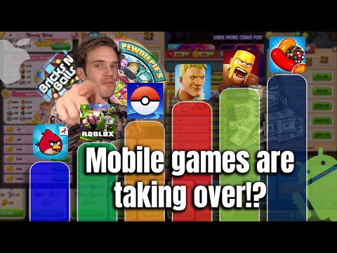 Why Mobile Games Are Taking Over The Market!
