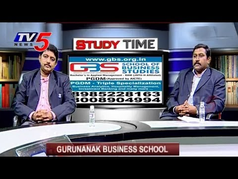 Study Time | Guru Nanak Business School : TV5 News