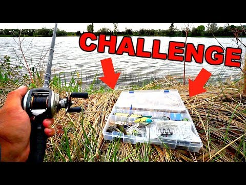 1 Box of Baits ONLY Bank Fishing CHALLENGE!!!