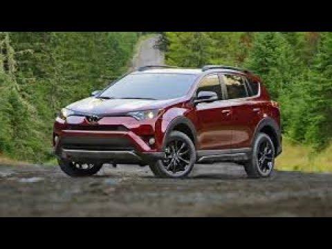 Toyota Rav 4 Safety Features Pre Collision Radar Cruise Lane Departure 2017 2018