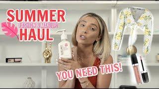 SUMMER HAUL! New FASHION & BEAUTY products! | Lauren Elizabeth