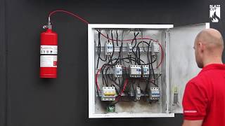 DEMO Bình chữa cháy tự động cho tủ điện OlymSafety