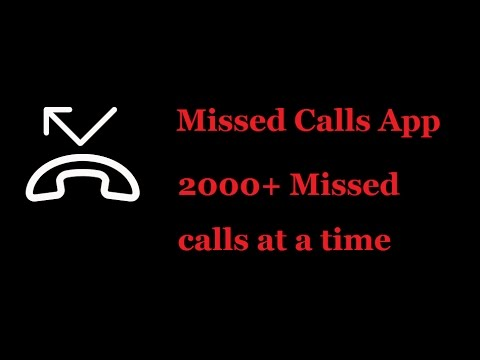 Missed Call App For Android