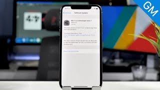 iOS 11.2.5 Beta 7 Released! GM Version/What's New?