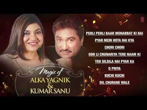 Magic of Alka Yagnik   Kumar Sanu Superhit Bollywood Songs   Non Stop Hits   Jukebox