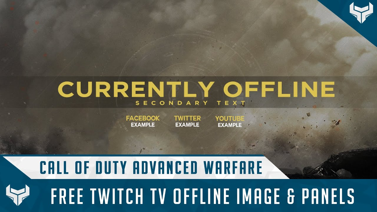 Free Call Of Duty Advanced Warfare Twitch Offline Image ...  Free Call Of Du...