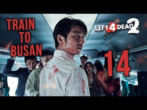 TRAIN TO BUSAN~!! - Left 4 Dead 2 Walkthrough Gameplay (Malaysia) // Episod 14 with Ukiller & JO