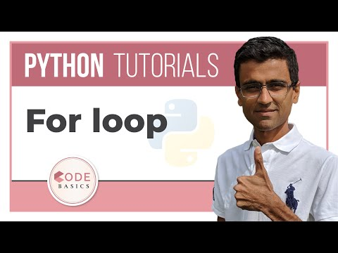 Python Tutorial - 9. For loop