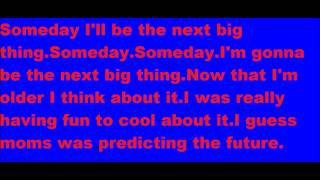 Max Schneider Someday lyrics