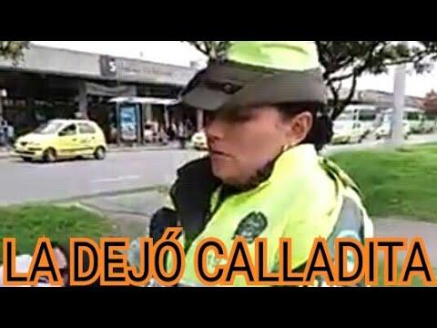 Mira como este ciudadano deja callada a policía de tránsito
