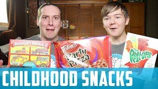 Favorite childhood snacks!