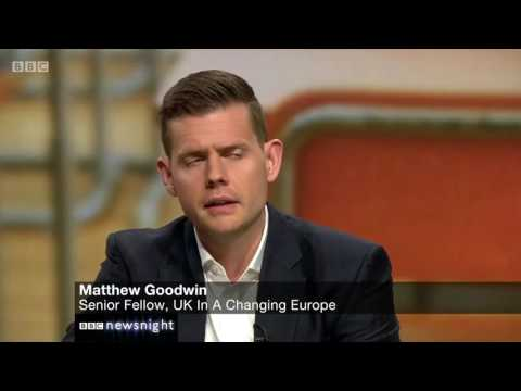 Matthew Goodwin: No going back on Brexit for the electorate