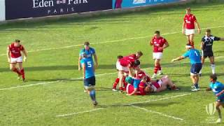 Outrageous Offload: Wales U20s score wonder try