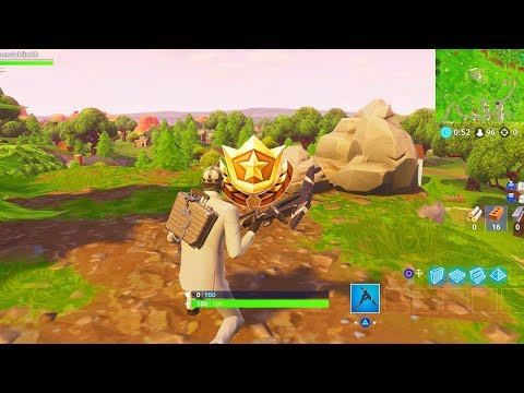 """""""Follow the treasure map found in Shifty Shafts"""" Location Fortnite Week 9 Season 5 Challenges!"""