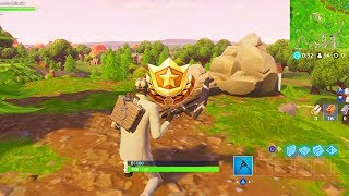 """Follow the treasure map found in Shifty Shafts"" Location Fortnite Week 9 Season 5 Challenges!"
