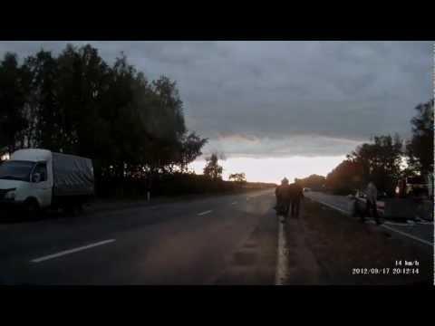 Авария Южноуральск-Пласт (17.09.12)