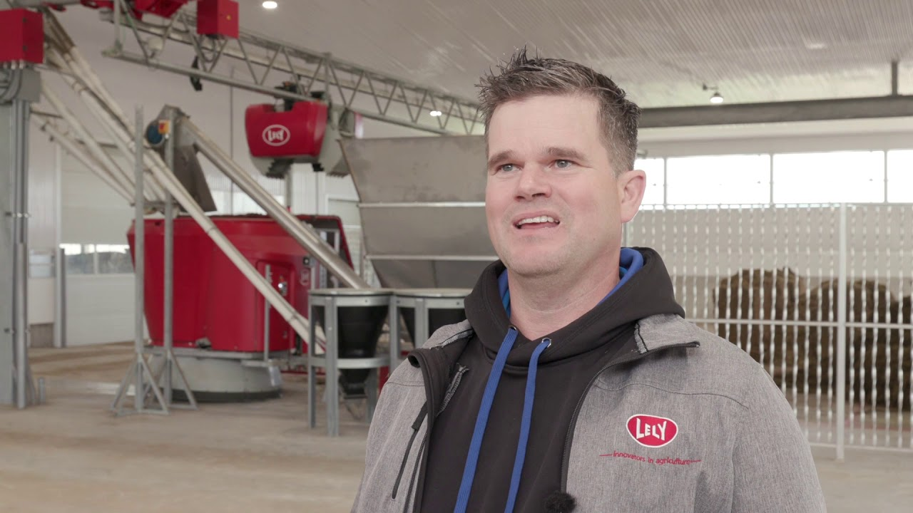 Lely Vector - Automatic feeding and conventional milking - Collin Walker