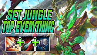TOP EVERYTHING (basically) Set Jungle  SMITE Conquest Season 7