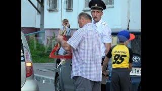 Хабаровский школьник попал под машину во время игры с друзьями. Mestoprotv