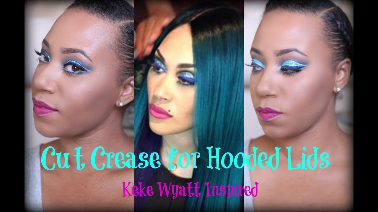 Download Keke Wyatt Inspired look - Cut Crease for Hooded Lids
