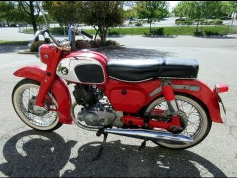 1964 honda ca95 benly touring motorcycle on govliquidation com youtube rh youtube com 1965 Honda 150 Motorcycle 1965 Honda 150 Motorcycle