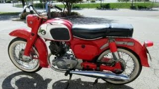 1964 Honda CA95 Benly Touring Motorcycle on GovLiquidation.com
