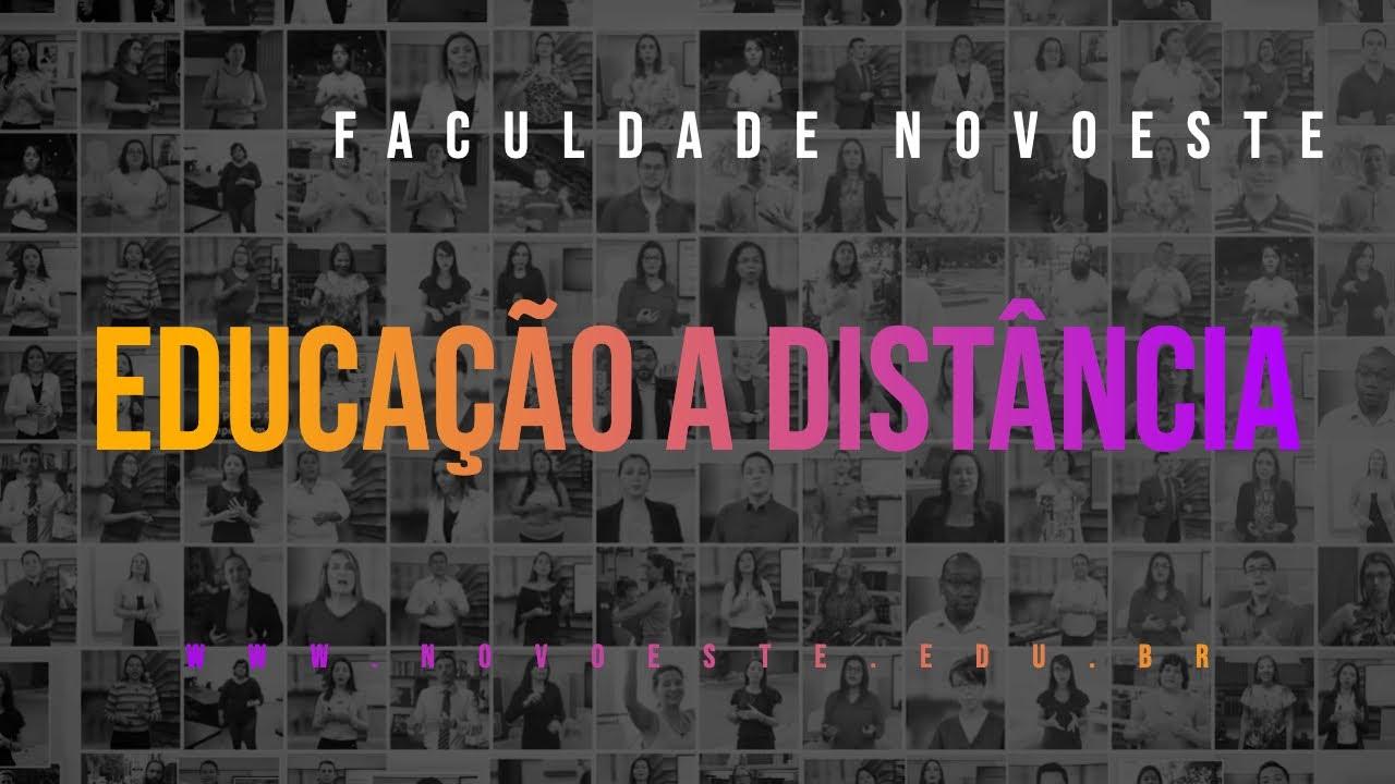 Educação a Distância | Faculdade NOVOESTE