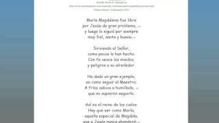 Poema cristiano sobre María Magdalena