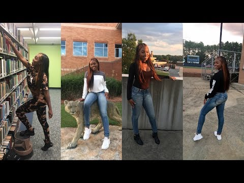 Fashion Nova Back to School Lookbook 2017 At My College Campus | Columbus State University