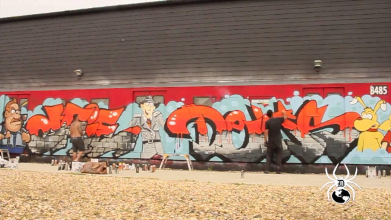 Graffiti London Styles Street Artist Dem Dfie Inspector