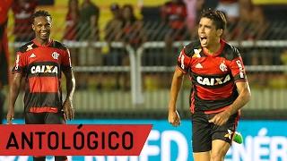 Gol de placa de Lucas Paquetá contra o Madureira