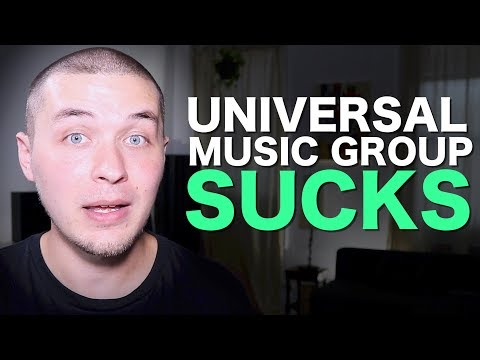 What I want to teach, but can't, thanks to Universal Music Group.