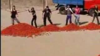 Amazing Race Rob Kimberly tomato fight