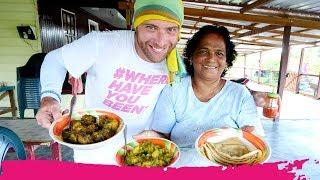 Suriname Plantation INDIAN FOOD + Pink Dolphins & Caiman Spotting | Paramaribo, Suriname