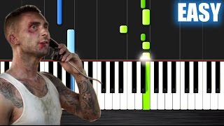 Maroon 5 - Payphone - EASY Piano Tutorial by PlutaX