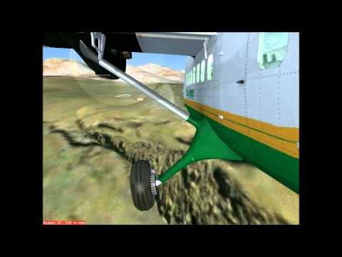 Matekane Airport, Lesotho in a DHC-6 Twin Otter