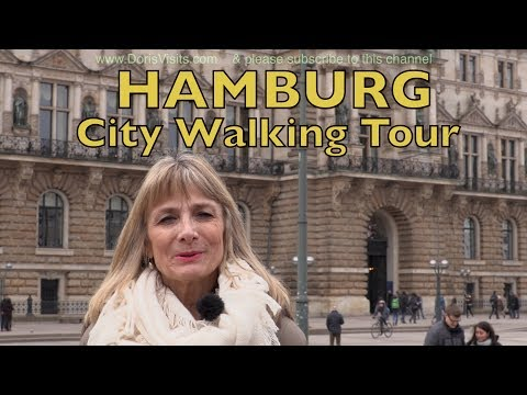 Hamburg Guide, a walk round the main attractions