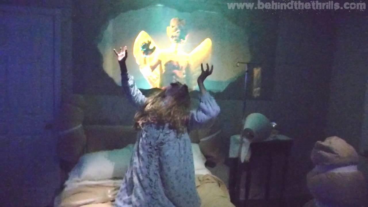 the exorcist maze hhn hollywood 2016 highlights youtube