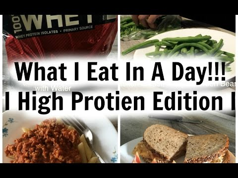 HIGH PROTEIN/ LOW CALORIE FULL DAY MEALS