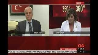 Koray Aydın ve Musavat Dervişoğlu 360 derece programına katıldı / CNN Türk