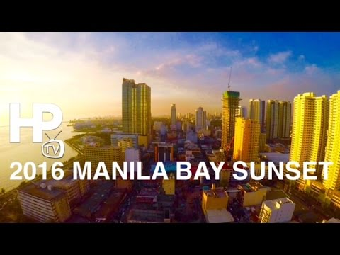 The Manila Bay Sunset from New World Manila Bay Hotel by HourPhilippines.com