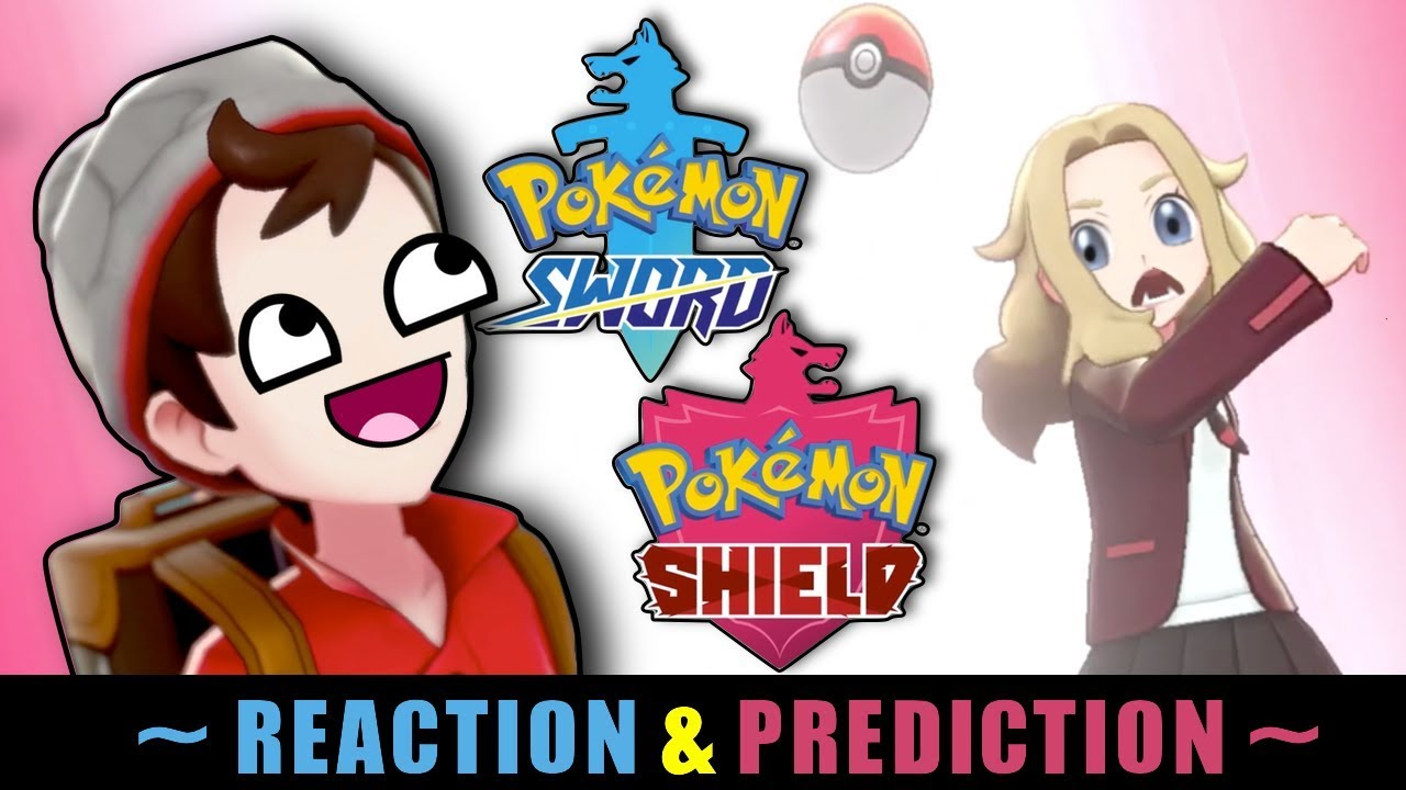 Pokemon Sword Shield Reaction Predictions Youtube