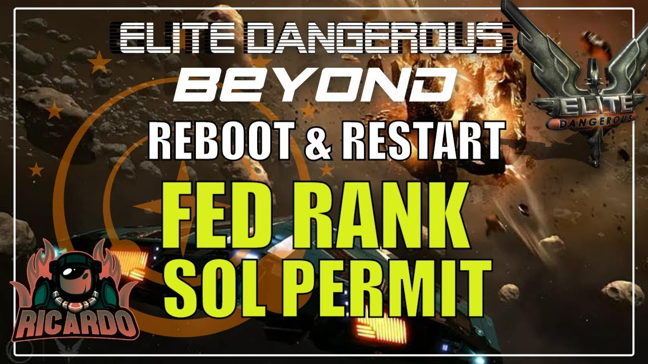 how to get a permit for sol in elite dangerous
