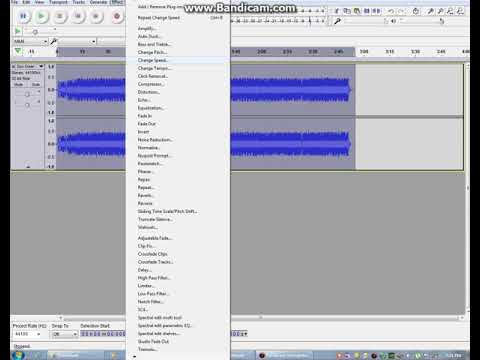 How to make a simple song remix using audacity